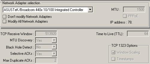 Réglages TCP/IP pour la Freebox Optique